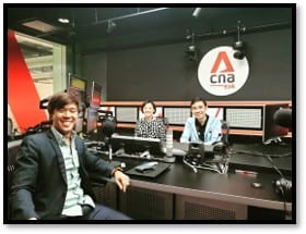 Desmond on CNA Radio