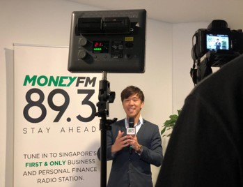 Desmond on MoneyFM Radio