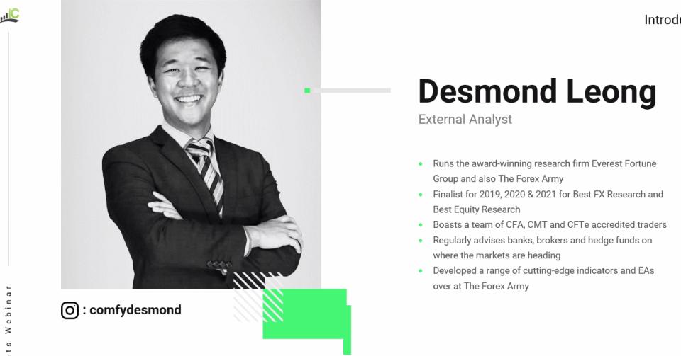 Desmond on IC Markets